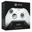 Manette Xbox One sans fil Elite Blanche