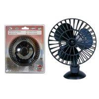 Ventilateur 13 cm avec fixation ventouse - 12 V