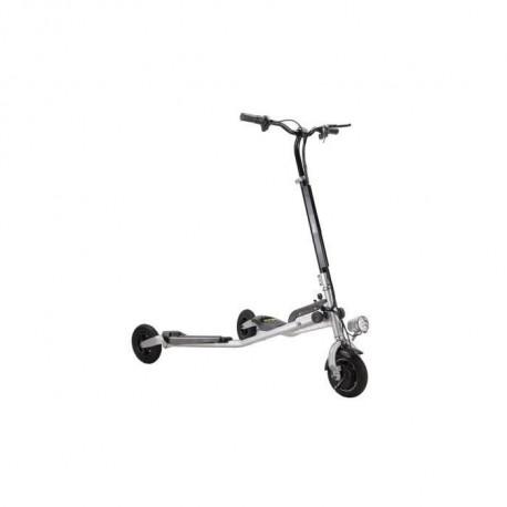 MOOVWAY Tricycle electrique Idis - Moteur 250W - 36V - 4Ah - 8 - Gris Argente