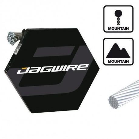JAGWIRE Lot de 100 cables de frein - 1.6 x 1700 mm - Sram et Shimano