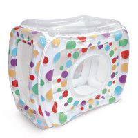 LUDI Aire de jeu gonflable - Multicolores