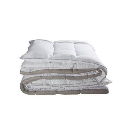 BULTEX Couette Mi-Saison 3D 140x200 cm blanc et gris