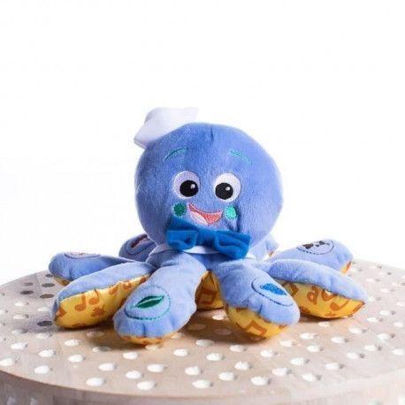 BABY EINSTEIN Poulpe Toudou Octoplush - Bleu