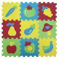LUDI Tapis Mousse Basic Fruits