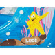 LUDI Aire de jeu gonflable Mer + 50 balles offertes