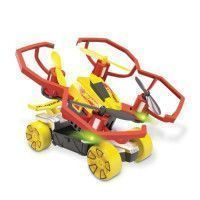 MONDO - Hot Wheels - Pack 2 en 1 - Drone + Vehicule - compatible pistes Hot Wheels - Garcon - Mixte - A partir de 3 ans