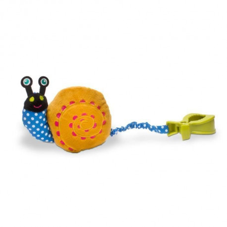 OOPS Peluche Vibrante a Pince Easy Move Escargot