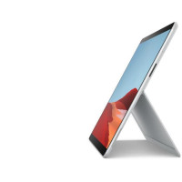 PC Portable - MICROSOFT Surface Pro X - 13 - Microsoft SQ2TM - RAM 16Go - Stockage 256Go SSD - Platine - Windows 10 - AZERTY