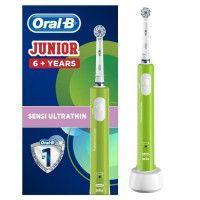 Oral-B Junior 6+ Brosse a dents electrique rechargeable - Vert