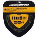 JAGWIRE Kit cable frein Mountain Pro Brake - Avant, arriere, gaine - Acier inoxydable poli - Noir