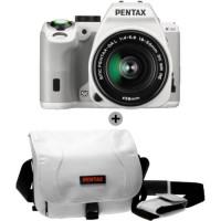 Appareil Photo Reflex Pentax K-S2 18-50mm Blanc + Sacoche