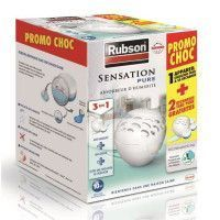 RUBSON PROMO CHOC Absorbeur Sensation Pure et sa recharge + 2 recharges Sensation Pure gratuites