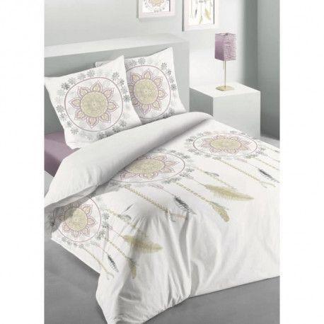 LES ATELIERS DU LINGE Parure de couette coton Dream - 220x240 cm