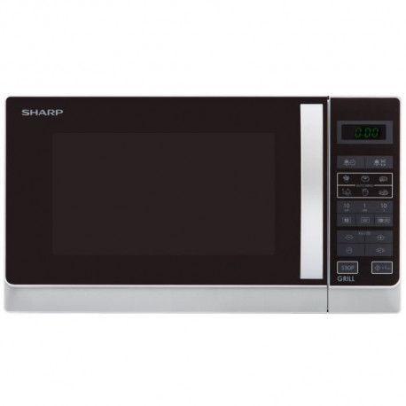 SHARP R-742WW - Micro-ondes grill - Blanc - 25L - 900 W - Grill 1000 W - Pose libre