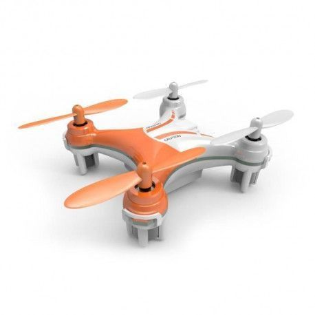 SILVERLIT Drone Telecommande NanoXCopter 6 cm Orange