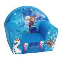 LA REINE DES NEIGES Fauteuil Club bebe Anna et Elsa Bleu - Disney Baby