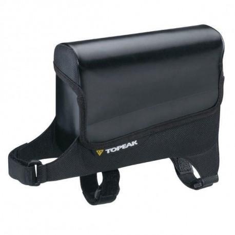 TOPEAK Sacoche de cadre Tt Drybag Medium - Attache laniere - Noir - 0,6 L