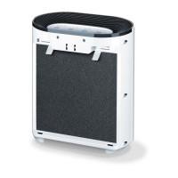 BEURER Filter-Set LR 200/210 - Kit de remplacement pour appareil LR 200/210 - Sleepline