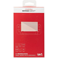 Kit protege ecran verre trempe Nintendo Switch