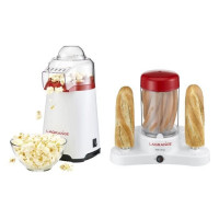 LAGRANGE 259010 Pack Coupe du monde 2018 : Appareil a popcorn Poppys + Machine a hot dog