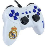 Manette filaire blanche Real Madrid pour Switch