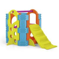 Aire de jeux Le Parc Multi-activites - plastique anti-UV - FEBER - avec toboggan