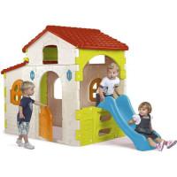 Maison pour enfant Beauty House - plastique anti-UV - FEBER - avec toboggan