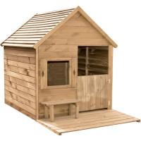 Cabane en bois pour enfant HEIDI - L 1,23 x l 1,69 x h 1,58 m