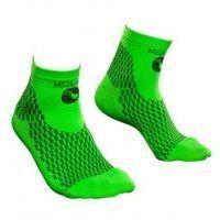 Socquettes de compression sport We Perf Vert