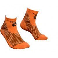 Socquettes de compression sport We Perf Orange