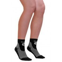 Socquettes de compression sport We Perf Noire