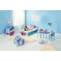 LA REINE DES NEIGES - Chambre Enfant complete lit, table, 2 chaises, bibliotheque, meuble de rangement et veilleuse