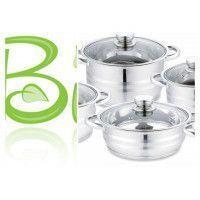 Zanotti ZN-CAS2 Batterie de cuisine en acier inoxydable 10pcs