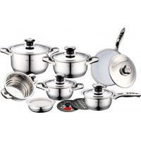 Royalty Line RL-16B Set de casseroles en Inox 16pcs