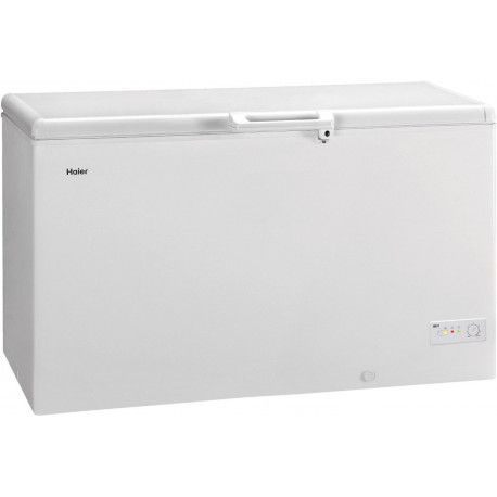 Congélateur coffre HAIER BD429RAA 449L Blanc