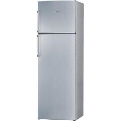 BOSCH KDN32X45 Refrigerateur congelateur haut-309 L 246 + 63 L-Froid ventile-A+-L60 x H 185 cm-Inox