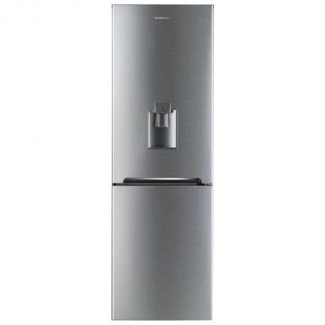 DAEWOO RN-361DS Refrigerateur congelateur bas - 304 L 218 L + 86 L - Total No Frost - A+ - L 59,5 x H 187 cm - Inox