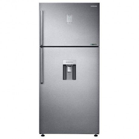 SAMSUNG RT50K6530SL - Refrigerateur congelateur haut - 499L 374+125 - Froid ventile - A+ - L 79cm x H 178cm - Inox