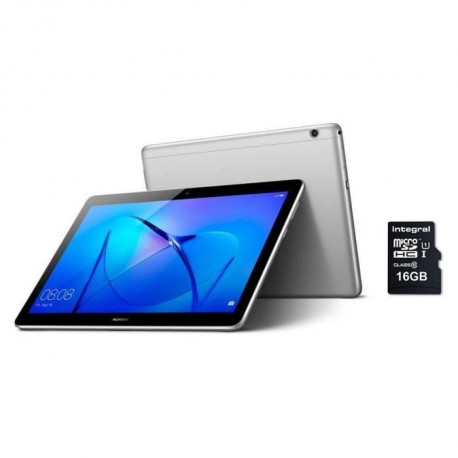 HUAWEI Tablette tactile MediaPad T3 10 9.6 HD -RAM 2Go - Qualcomm MSM8917 - Stockage 16Go - Android 7.0 + Carte micro SD