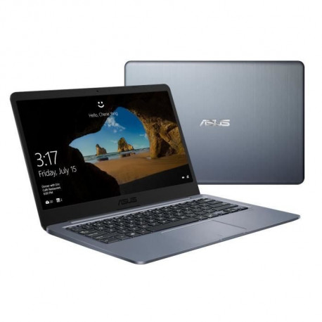 Ordinateur portable - ASUS E406MA-BV005TS - 14 pouces HD - Celeron N4000 - RAM 4 Go - Stockage 64 Go - Office inclus 1 an