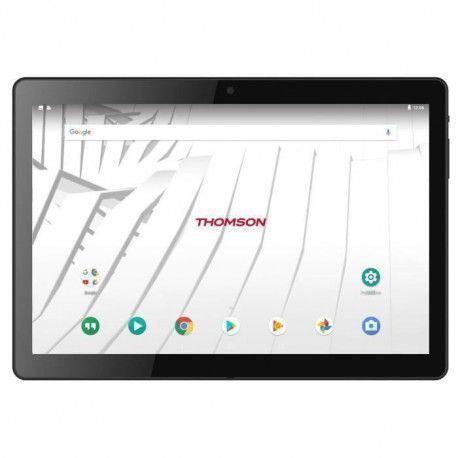 THOMSON Tablette tactile TEO10 - TEO104G-MT2BK16 - 10,1 - 2Go de RAM - Android 7.1 - MEDIATEK MTK8735 - Stockage 16Go - 4G/WiFi