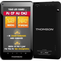 THOMSON Tablette Tactile TEO-QD7BK8E 7 - Processeur Quad Core A33 - RAM 1 Go - Stockage 8 GO