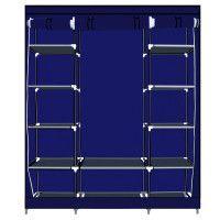 Herzberg HG-8009: Armoire de rangement - Grande Bleu