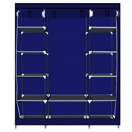 Herzberg Herzberg HG-8009: Armoire de rangement - Grande Bleu