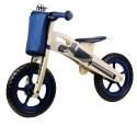 Kinderline WBC726.1: Vélo d'équilibre en bois Bleu