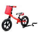 Kinderline MBC711.2: Vélo d'équilibre pour enfants Rouge