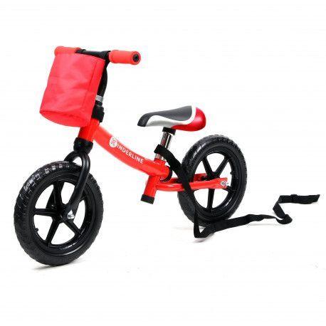 Kinderline Kinderline MBC711.2: Vélo d'équilibre pour enfants Rouge