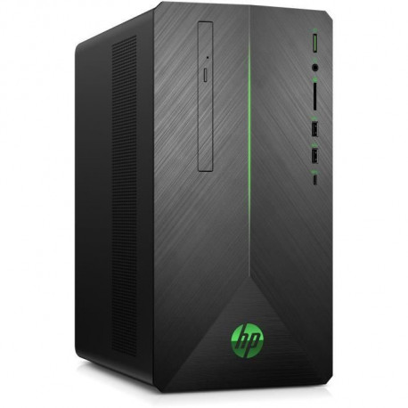 HP PC de Bureau Pavilion Gaming HP690-0037nf - Core i5-8400 - RAM 8Go - Disque Dur 1To HDD + 256Go SSD - GTX 1060 - 3Go - Window