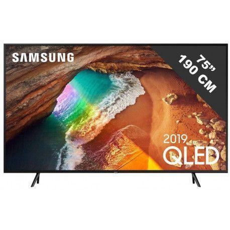 Samsung TELE LED + DE 65 POUCES SAMSUNG QE 75 Q 60 R
