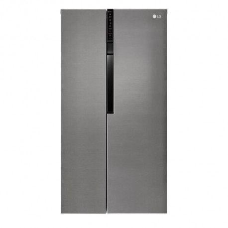 LG GSB360BASZ - Refrigerateur americain - 591L 394+197 - Froid ventile - A++ - L 91.2 x H 179cm - Inox